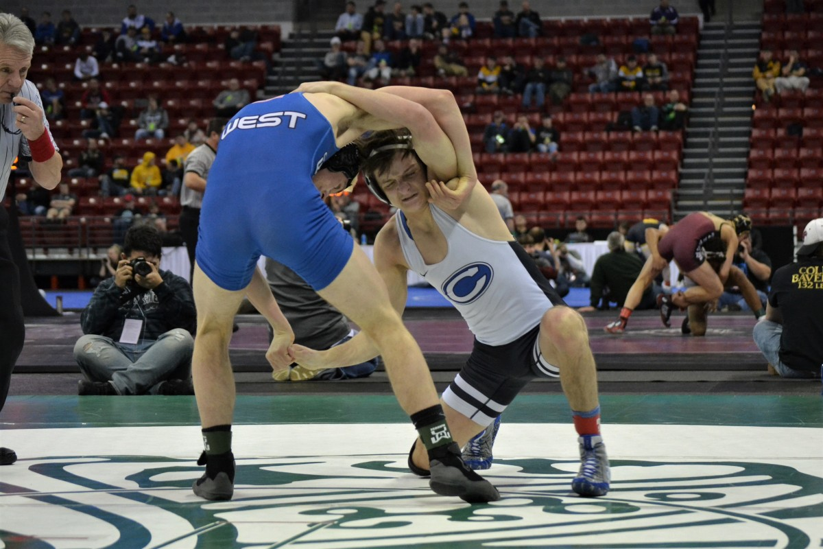 Indivdual State Wrestling Saturday afternoon medal round notes andobservations
